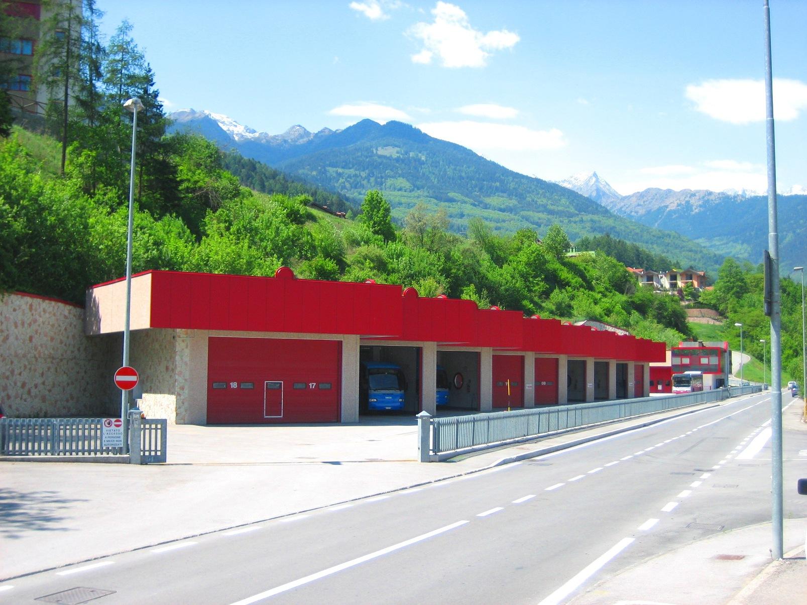 Stazione Trentino Trasporti spa
